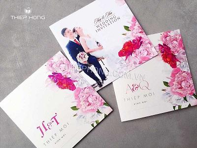 In thiệp cưới rẻ đẹp tại Hà Nội