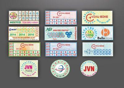 Công ty In Bảo An chuyên nhận in đề can, tem bảo hành, Sticker, nhãn dán. Với kinh nghiệm 10 năm hoạt động cùng hệ thống trang thiết bị hiện đại, chúng tôi đảm bảo cung cấp đến quý khách hàng sản phẩm chất lượng với chi phí thấp nhất.