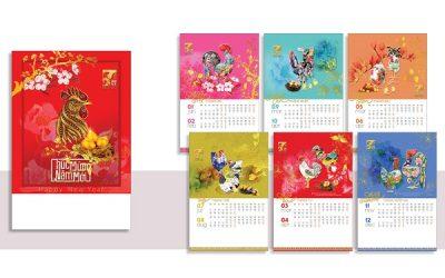 In lịch Tết giá rẻ tại Hà Nội