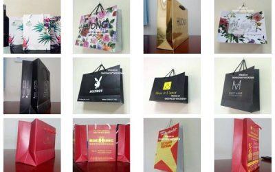 In túi giấy cho shop thời trang tại Hà Nội